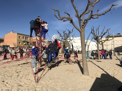 L'Ajuntament de Juneda millora i renova les àrees infantils del poble