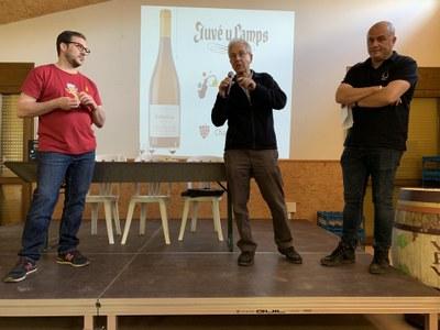 L'associació Tastavins Juneda torna a col·laborar amb 'Vi Per Vida'