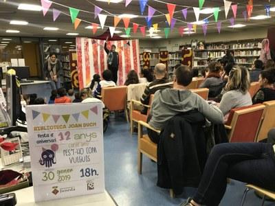 La Biblioteca de Juneda celebra el seu 12è aniversari