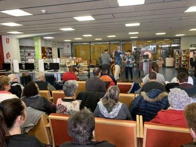 La Biblioteca Municipal de Juneda celebra el Dia Mundial de la Poesia