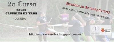 La Cursa de les Cassoles, a punt per la seva segona edició