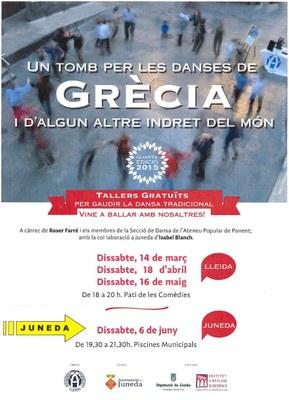 La dansa arriba aquest dissabte a Juneda amb un taller gratuït