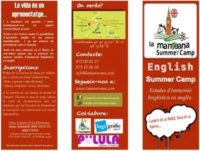La Manreana Summer Camp, estades d'anglès per aquest estiu
