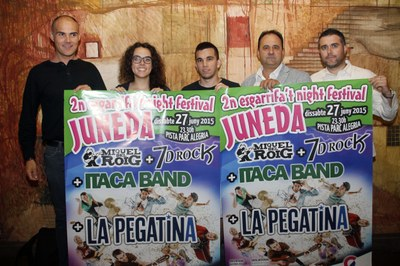 La Pegatina, cap de cartell de la segona edició de l'Esgarrifa't Night Festival Juneda