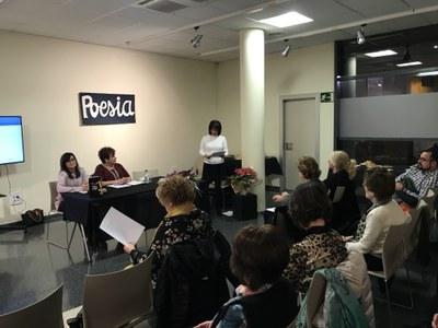 La poetessa borgenca Anna Rufié presenta el seu poemari a Juneda