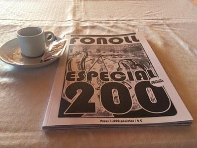 La Revista Fonoll celebra el seu número 200