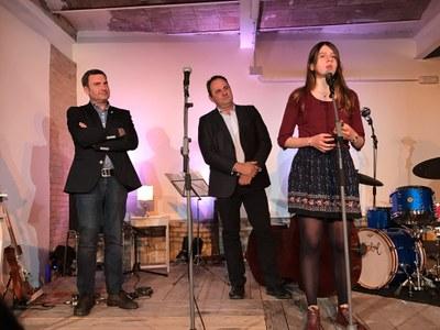 Lliurament del 18è Premi de Poesia Joan Duch per a joves escriptors