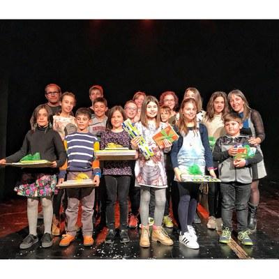 Lliurament dels premis de poesia escolar Joan Duch al Teatre Foment de Juneda