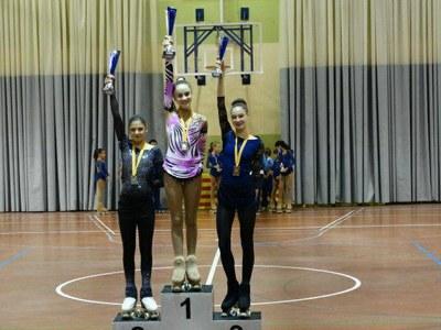 Magnífica actuació de les patinadores del C.H.Juneda a la VIII Copa Alcoletge i al Trofeu Ciutat de Solsona