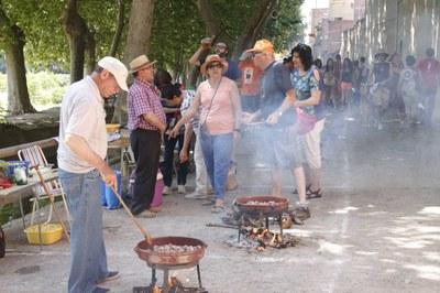 Més de noranta colles al tradicional Concurs de Cassoles de Tros de Juneda