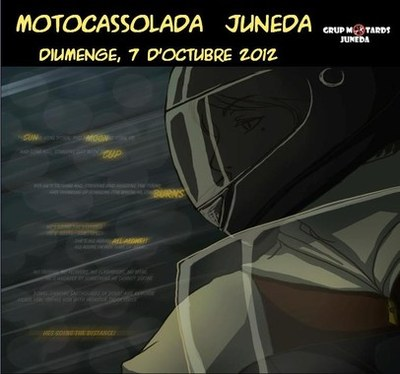 Motocassolada 2012 a Juneda