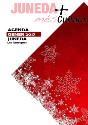 Nova Agenda Cultural de l'Ajuntament de Juneda