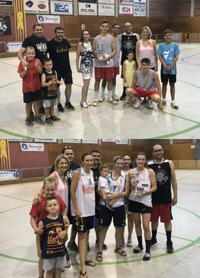 Equips guanyadors en categoria masculina i femenina
