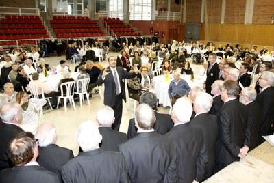 Més de 350 persones al dinar dels 25 Anys de la Residència d'Avis de Juneda