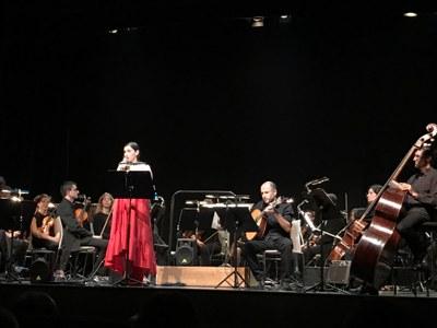 Névoa porta els seus fados a Juneda en versió orquestral