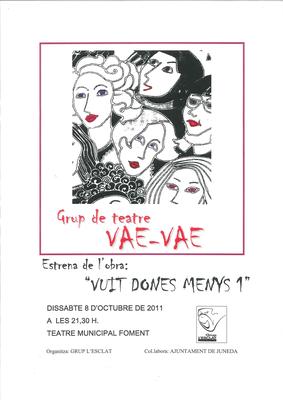 Obra de Teatre: VUIT DONES MENYS 1