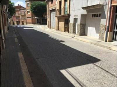 Obres Urbanització del carrer Anselm Clavé
