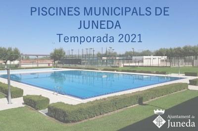 PISCINES MUNICIPALS 2021
