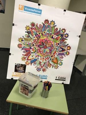 Presentació a Juneda de la campanya 1 Color – 1 euro – 1 casa