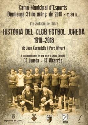 """Presentació del llibre """"Història del Club Futbol Juneda: 1918-2018"""""""