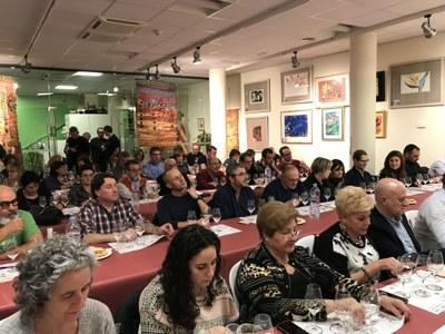 Primer Tast del 2018 de l'Associació Tastavins de Juneda