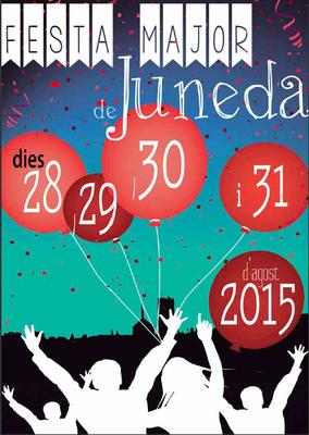 Programa complet de la Festa Major de Juneda 2015
