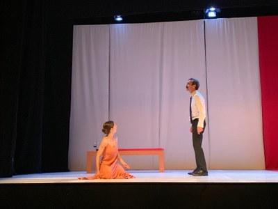 Representació d' 'Othello' de Les Antonietes al Teatre Foment