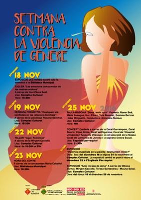 Setmana contra la Violència de Gènere