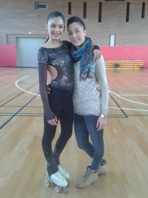Sisena plaça al Campionat Territorial de patinatge artístic de Tremp