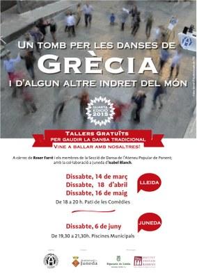 Taller gratuït sobre danses tradicionals a les Piscines Municipals el 6 de juny
