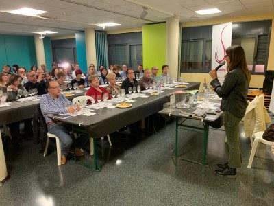 Tast de Vins organitzat per l'Associació Tastavins de Juneda amb el Celler Vins del Cep