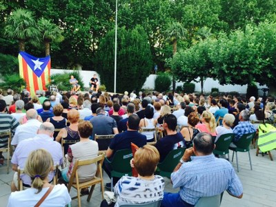 Toni Albài Fermí Fernàndez ofereixen la seva visió sobre procés davant 300 persones