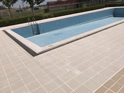 Tot a punt per la temporada de piscines a Juneda