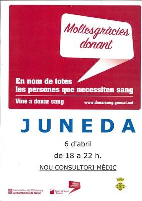 Vine a donar sang